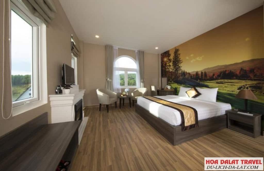 Khách sạn Dalat Wonder Resort - phòng