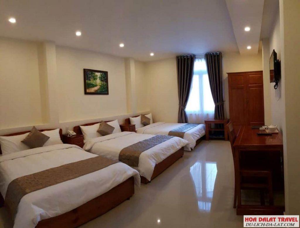 Khách sạn Đồng Việt- phòng ngủ