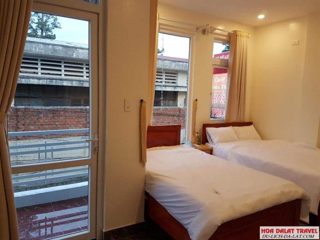 Khách sạn Hoàng Phong Đà Lạt- phòng ngủ