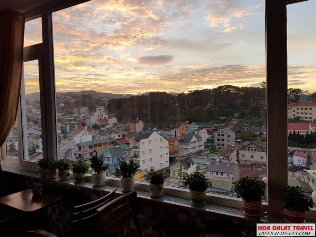 Khách sạn Hoàng Phong Đà Lạt- view