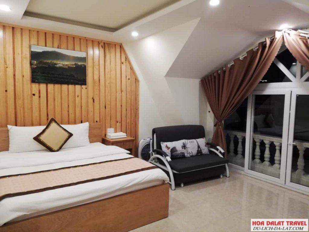 Khách sạn Minh Long Đà Lạt- bên trong
