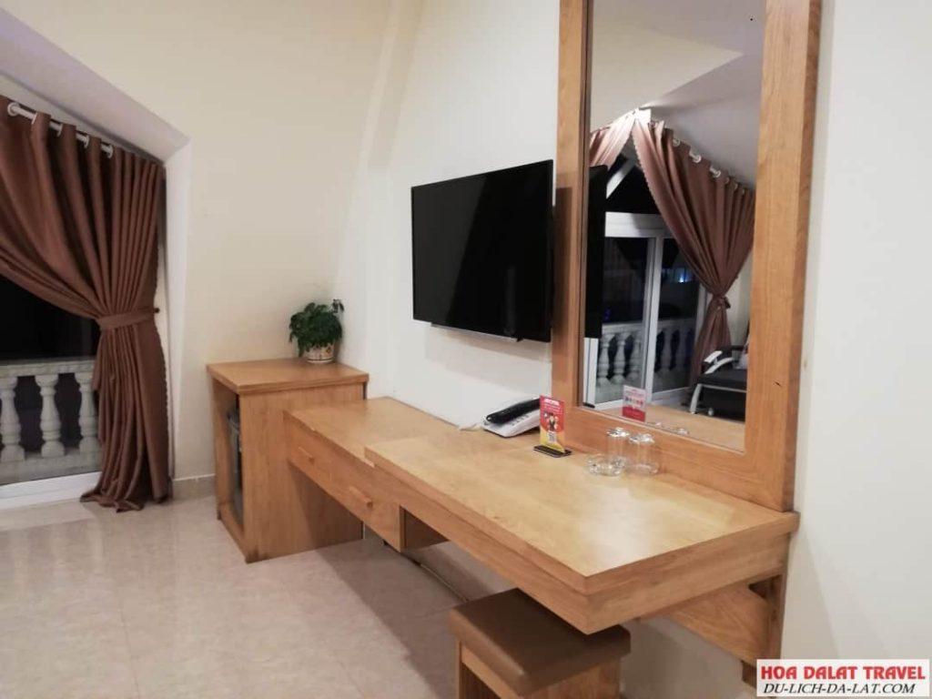 Khách sạn Minh Long Đà Lạt- không gian