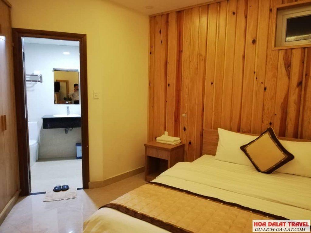Khách sạn Minh Long Đà Lạt- phòng ngủ