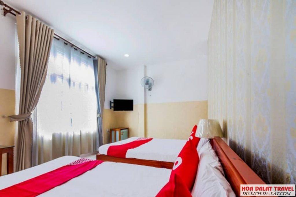 Khách sạn Thảo Trâm Đà Lạt- phòng ngủ