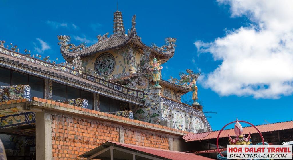 Kiến trúc chùa Linh Phước Đà Lạt