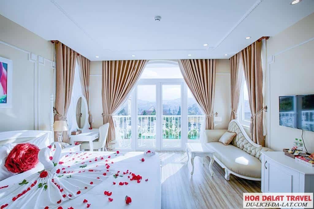La Vie En Rose Villa Dalat - phòng