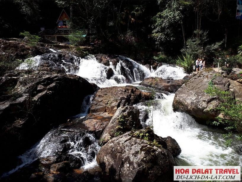Những khu du lịch quanh hồ Tuyền Lâm - thác Datanla