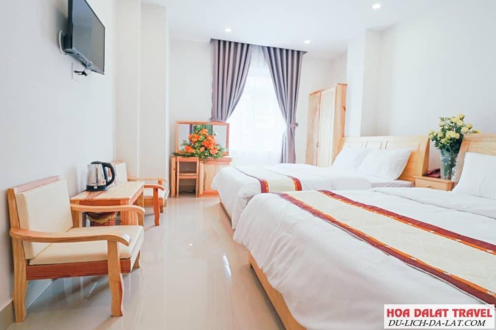 Phòng khách sạn ở Đà Lạt