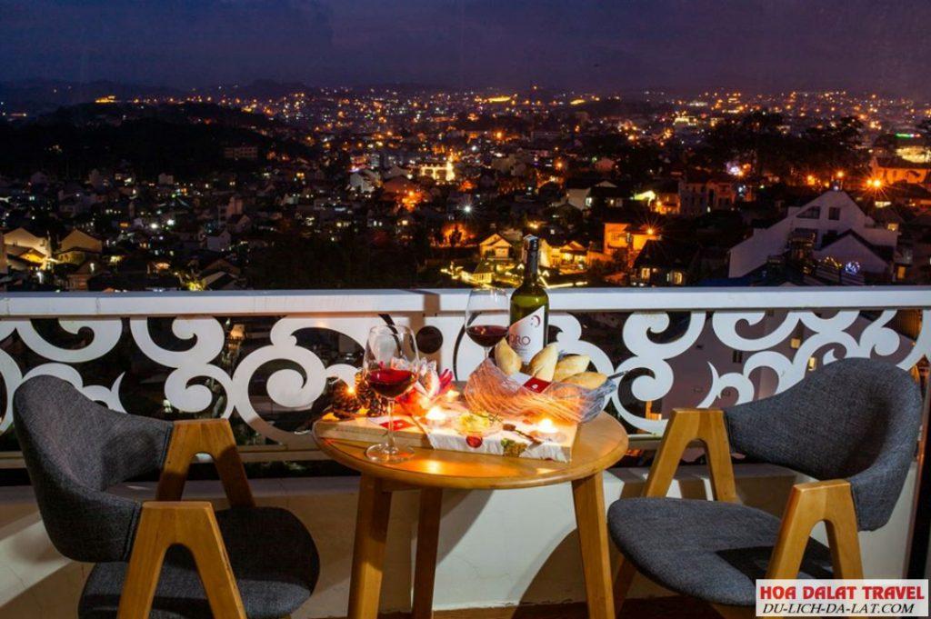 Rose Valley Hotel - Khách sạn view đẹp Đà Lạt