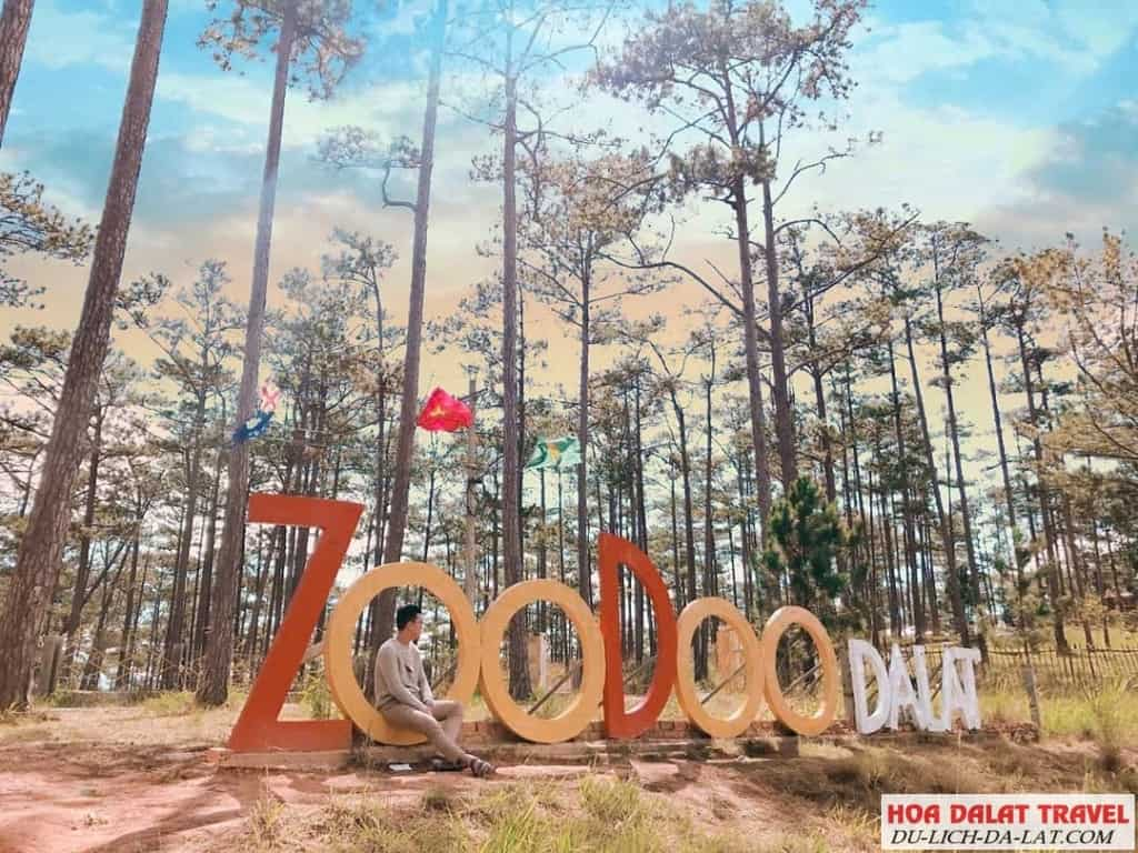 Sở thú zoodoo Đà Lạt có gì