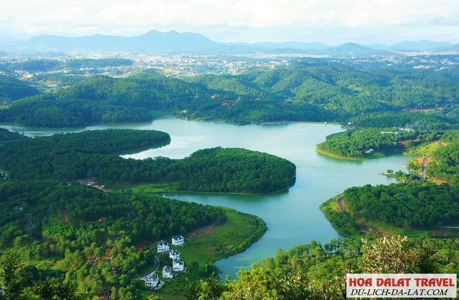 Sự tích hình thành tên gọi hồ Tuyền Lâm Đà Lạt