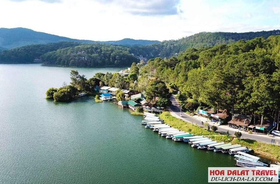 Sự tích hình thành tên gọi hồ Tuyền Lâm