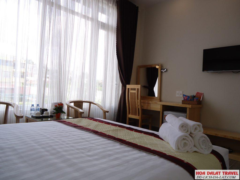 T.U.K Hotel- phòng ngủ