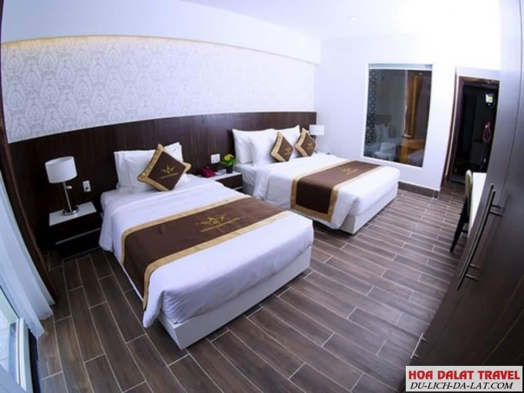 Tiện nghi trong phòng khách sạn Minh Chiến