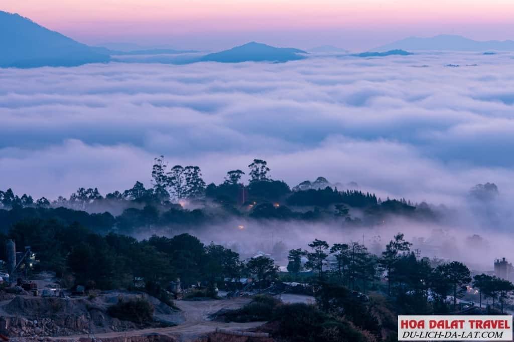 Tour leo núi Langbiang Đà Lạt