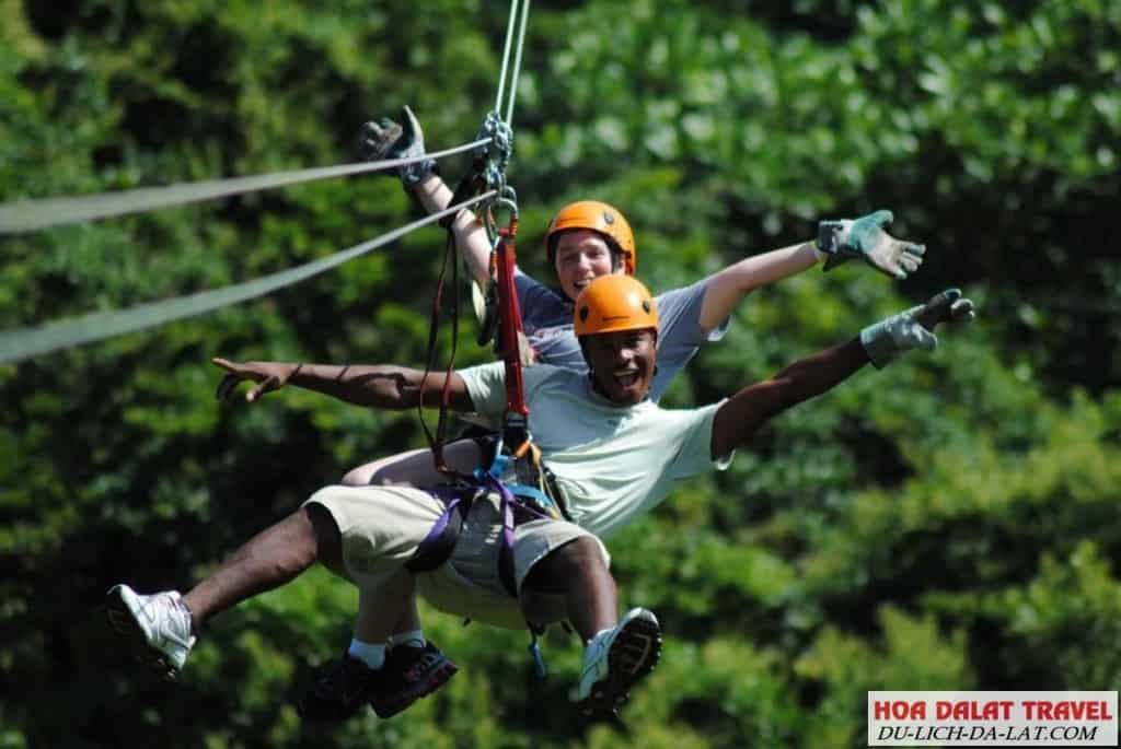 kinh nghiệm chơi zipline
